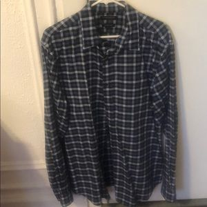 Banana Republic XL Luxe Flannel Grant Fit